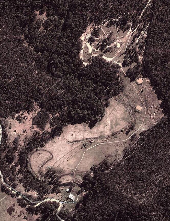 Lochmaree Dirt Biking Map