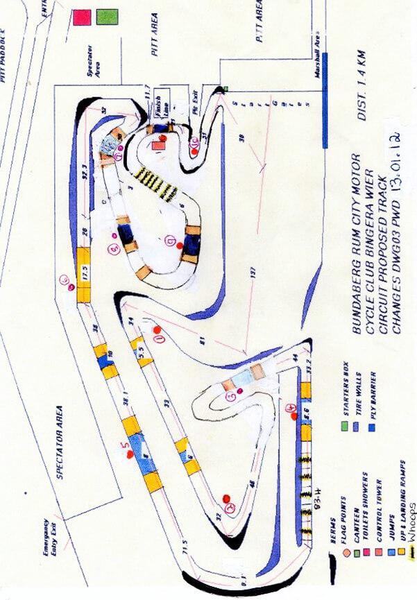 Rum City Motocross Dirt Biking Map