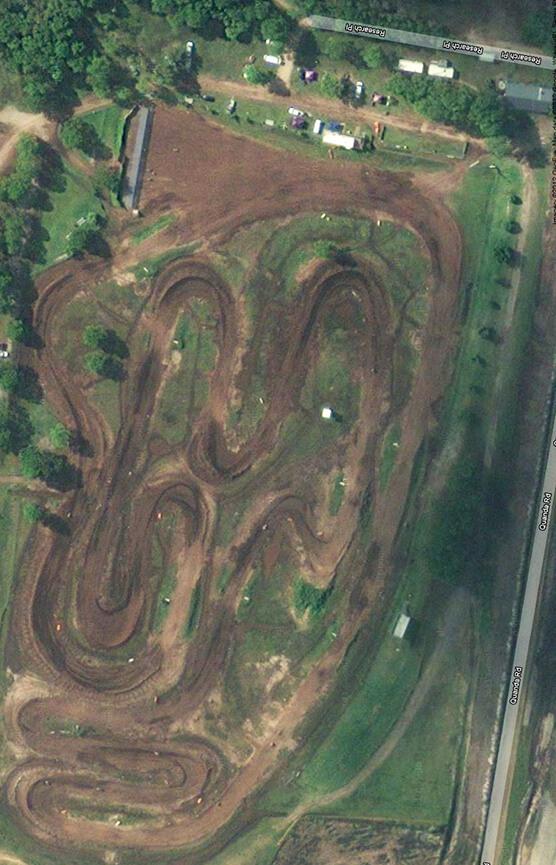Suncoast Junior Motorcycle Club Dirt Biking Map