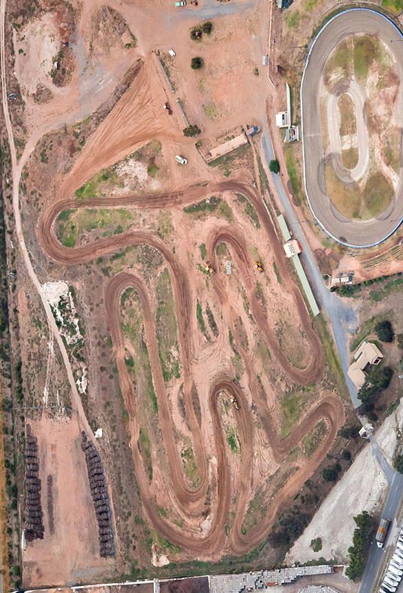 Gillman Track Dirt Biking Map