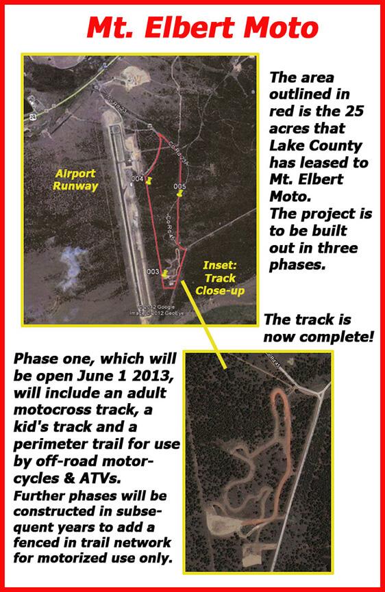 Mt Elbert Moto ATV Trails Map