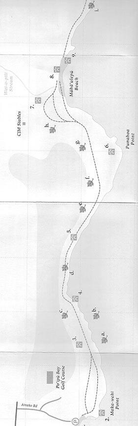 Mahaulepu Heritage Trail Hiking Map