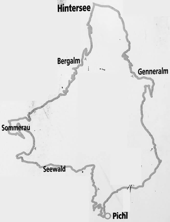 Osterhorn Mountain Biking Map