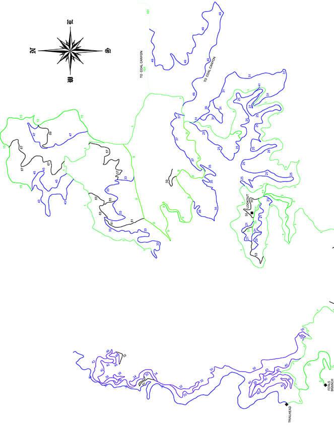 Ridgeview ATV Trails Map