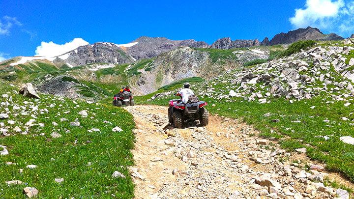 ATV RIding Pearl Pass
