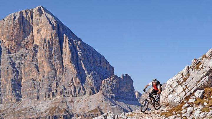 Biking In The Dolomites (Courtesy Cortina Tourism)