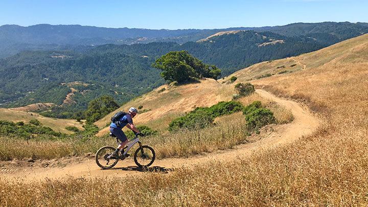 Mountain Biking The Loma Alta - 680 Trail