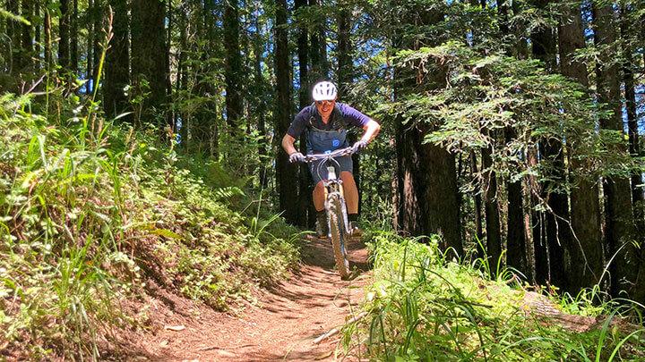 Mountain Biking The Tamarancho In Marin
