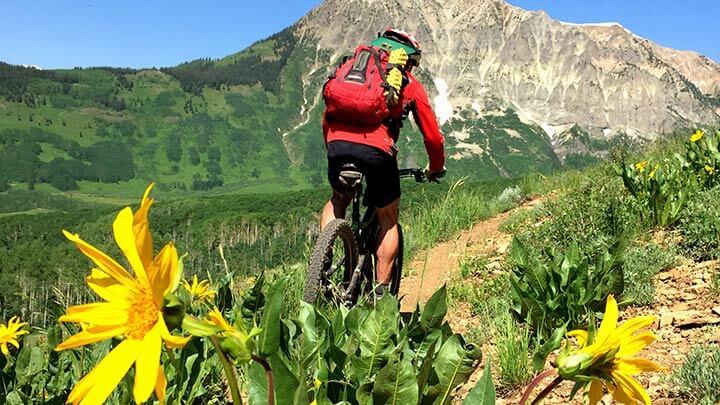 Mountain Biking the Deer Creek Trail
