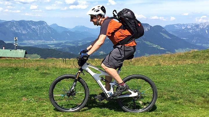 Mountain BIking Wildschonau, Austria