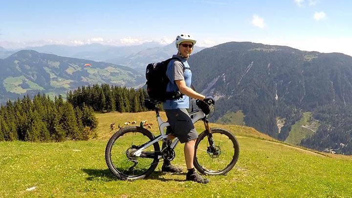 Mountain BIking Markbachjoch, Austria