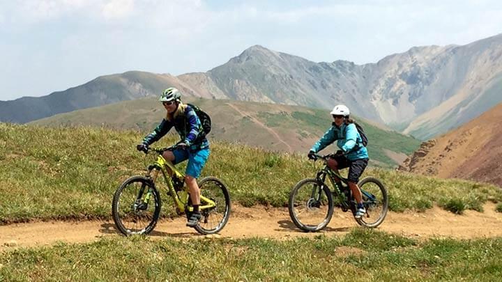 Mountain Biking the East Brush Creek Trail