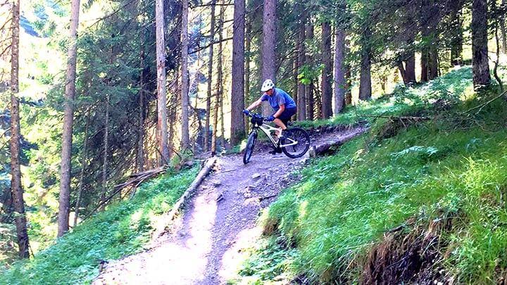 Lisi Osl Trail near Kirchberg, Austria