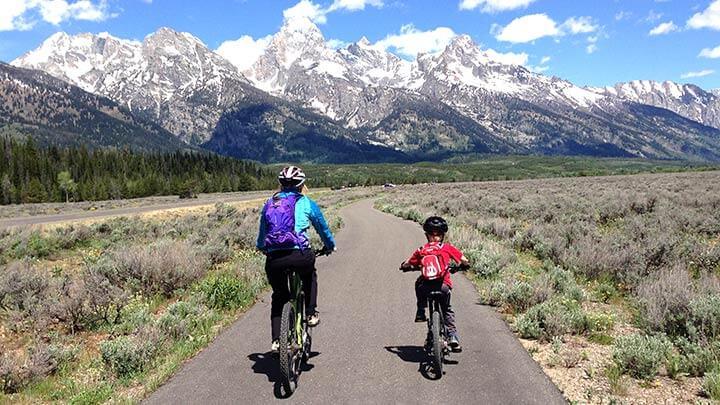 Mountain Biking The Grand Teton Multi-Purpose Path