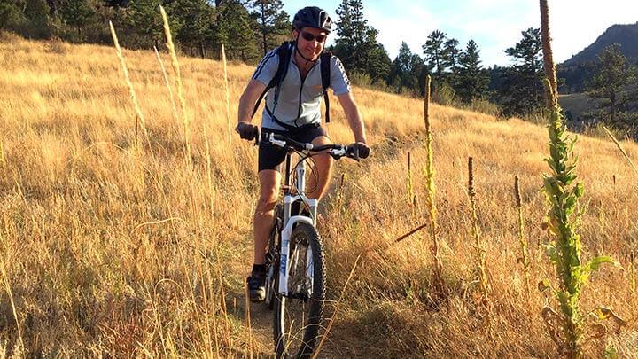 Mountain Biking in Centennial Cone Open Space