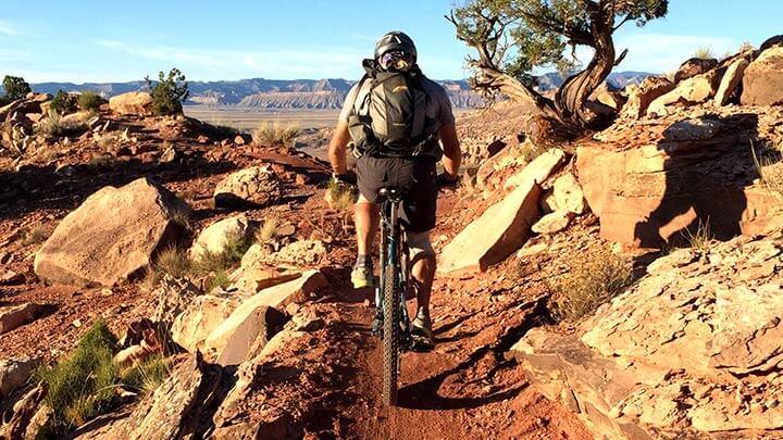 KlonZo Mountain Bike Trail Near Moab (UT/US)