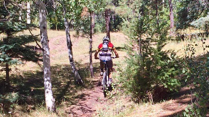 Winsor Trail Mountain Biking