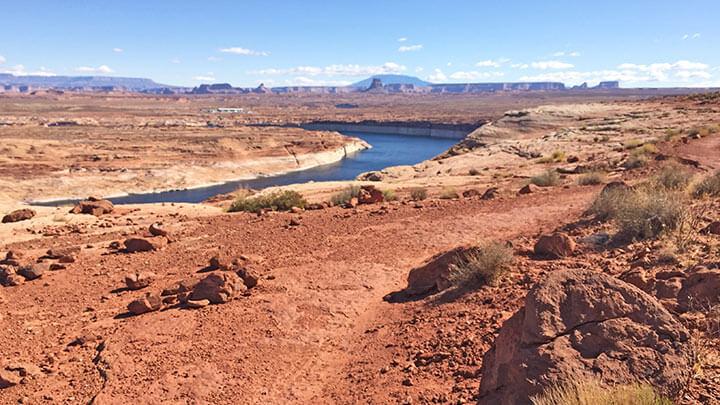 Mountain Biking The Page Rim Trail, Arizona