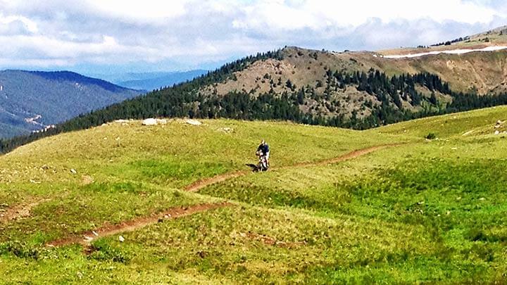 Mountain Biking The Colorado Trail