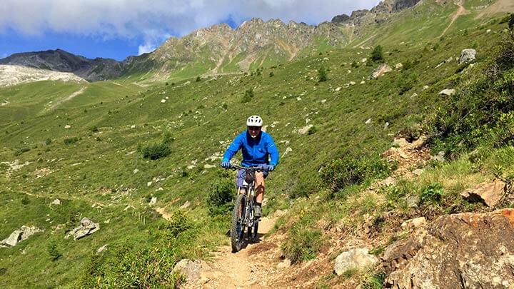 Mountain Biking Lenzerheide, Switzerland
