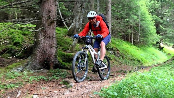 Mountain Biking Swiss Alpine Bike 1, Switzerland