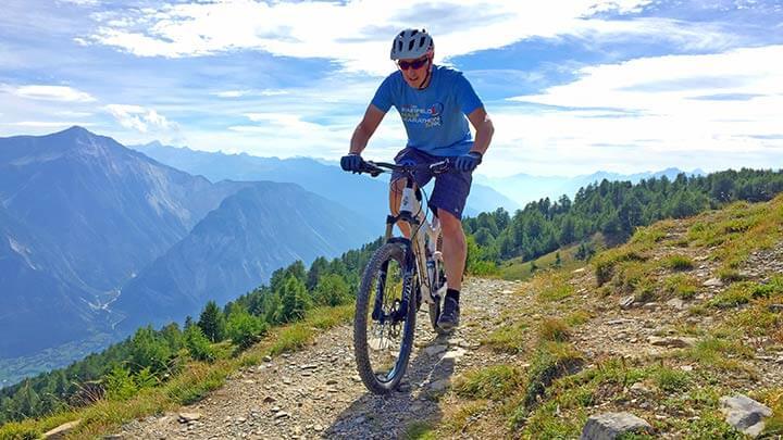 Wallis Panorama Bike Route, Switzerland