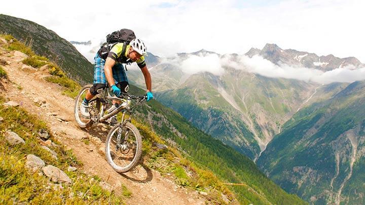 Mountain Biking Sud-Tirol, Italy