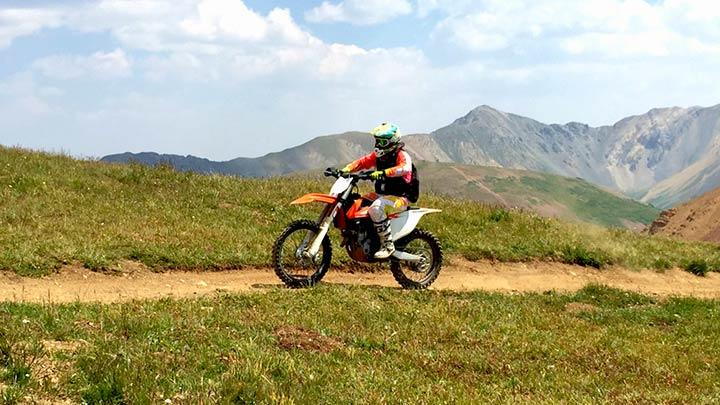 Dirt Biking the Pearl Pass from CB to Aspen