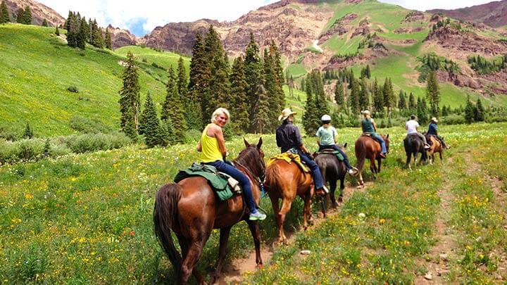 Colorado Horseback Riding Trails