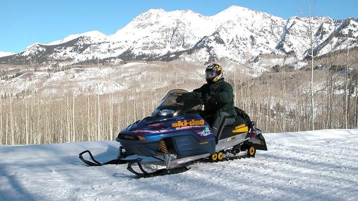 Colorado Snowmobiling Trails